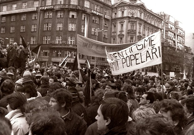 Sametová revoluce 17.11.1989
